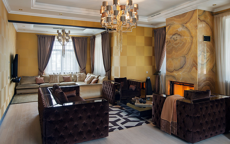интерьер гостиной - фото № 46295