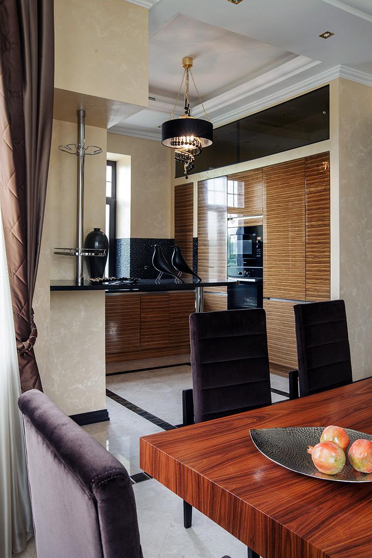 Фото № 46297 кухня  Квартира