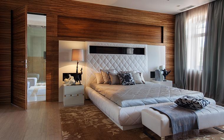 интерьер спальни - фото № 46301
