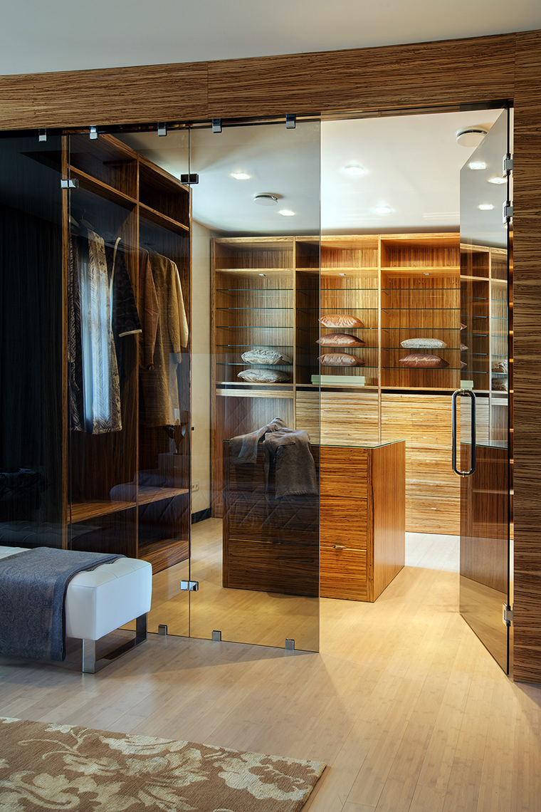 интерьер гардеробной - фото № 46302