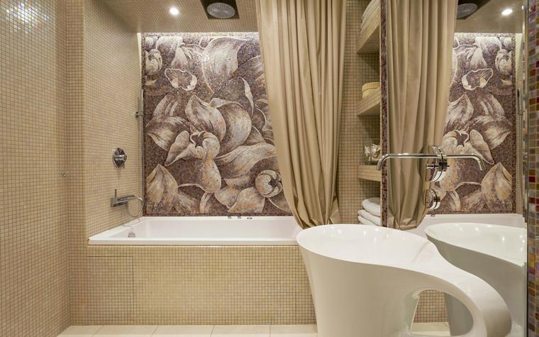 Квартира. ванная из проекта , фото №46327