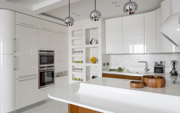 Фото № 46320 кухня  Квартира