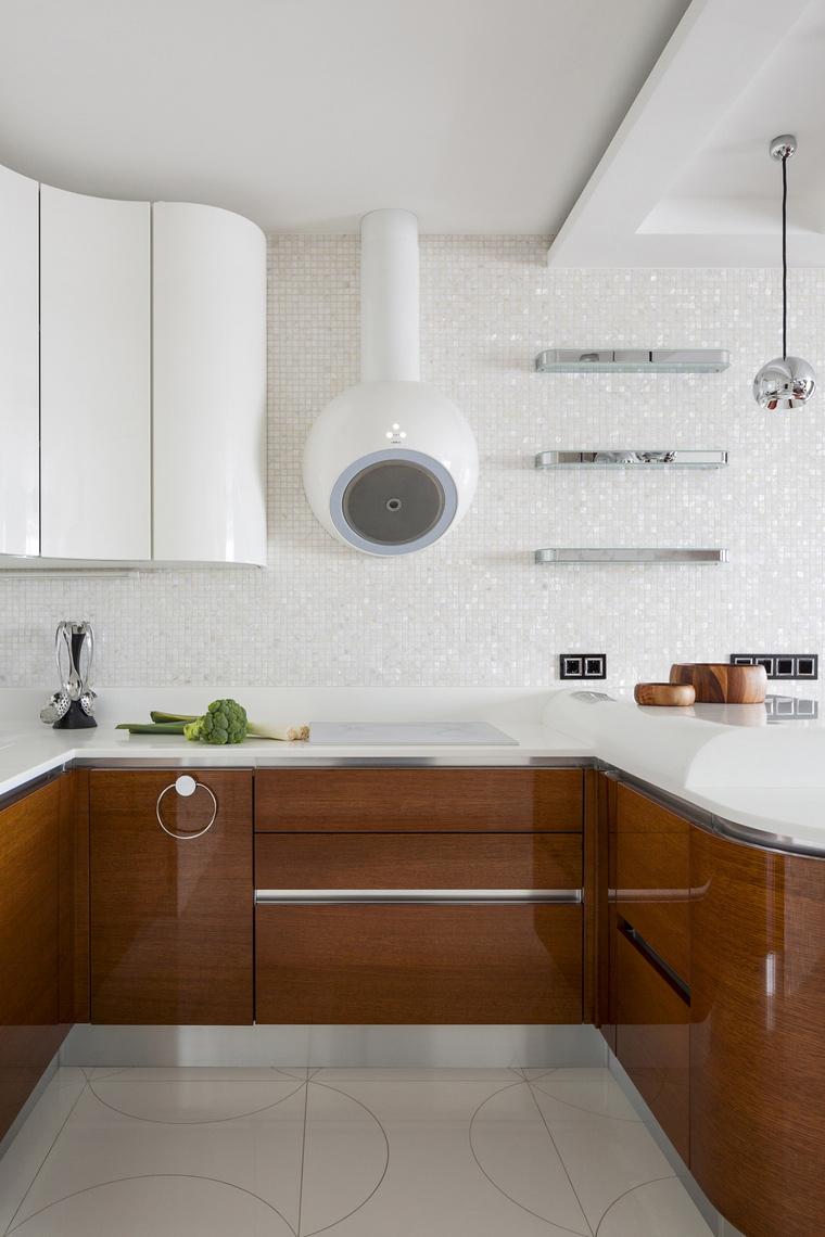 Фото № 46321 кухня  Квартира