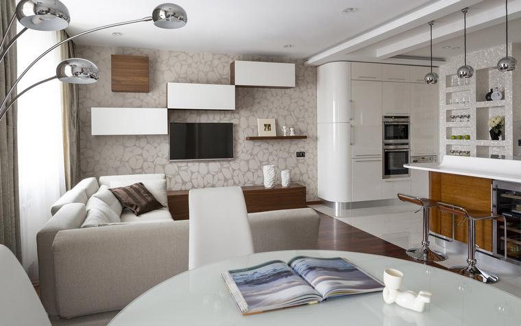 Фото № 46319 гостиная  Квартира