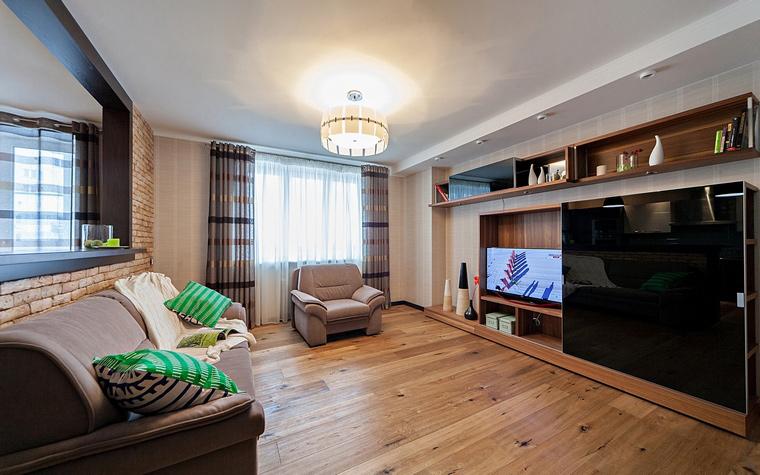 интерьер гостиной - фото № 46442