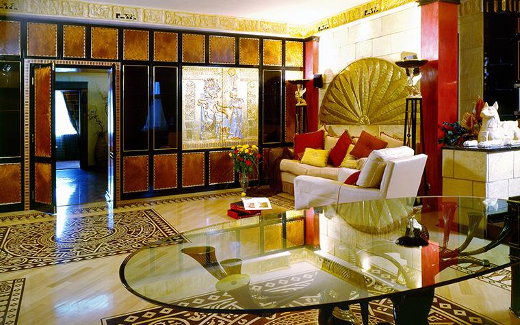 интерьер гостиной - фото № 46471
