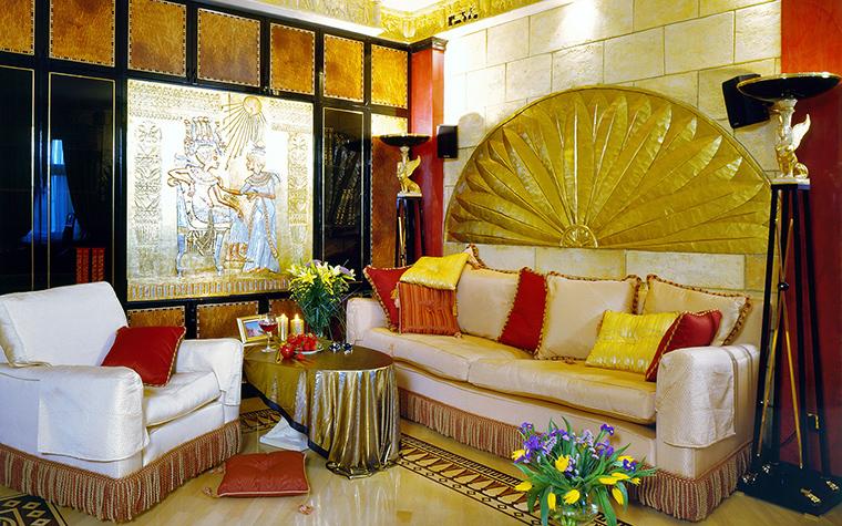 интерьер гостиной - фото № 46472