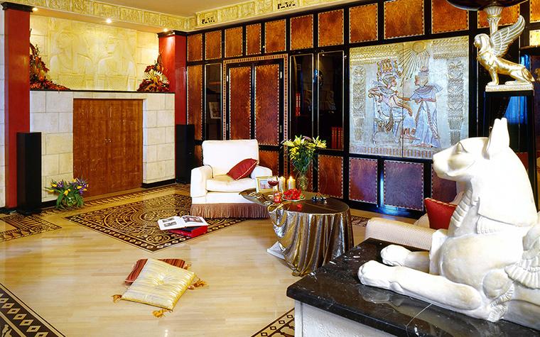 интерьер гостиной - фото № 46473
