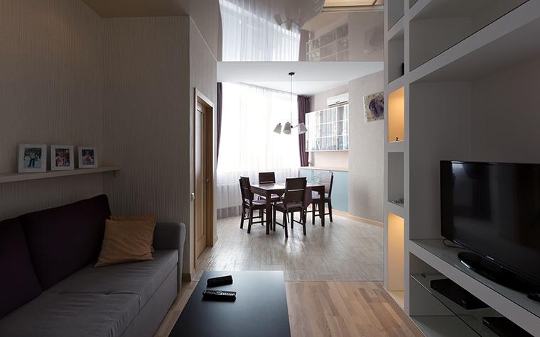 интерьер гостиной - фото № 46519