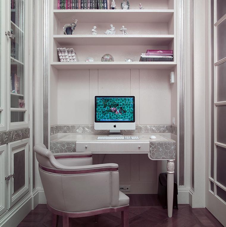Фото № 46826 кабинет библиотека  Квартира