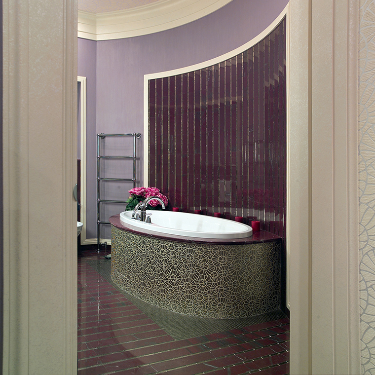 Квартира. ванная из проекта , фото №46851