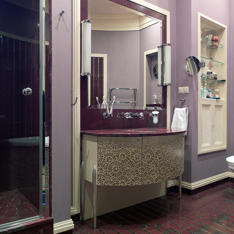 Квартира. ванная из проекта , фото №46853