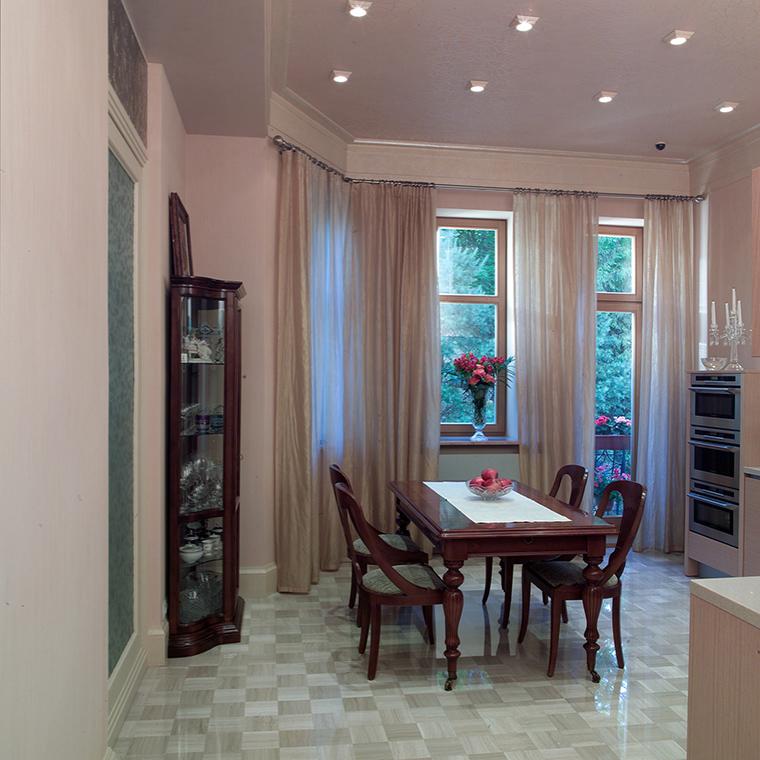 Квартира. столовая из проекта , фото №46858