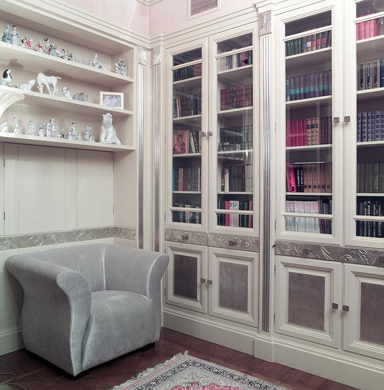 Фото № 46830 кабинет библиотека  Квартира