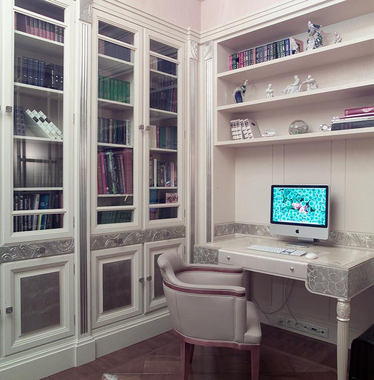 Квартира. кабинет из проекта , фото №46831