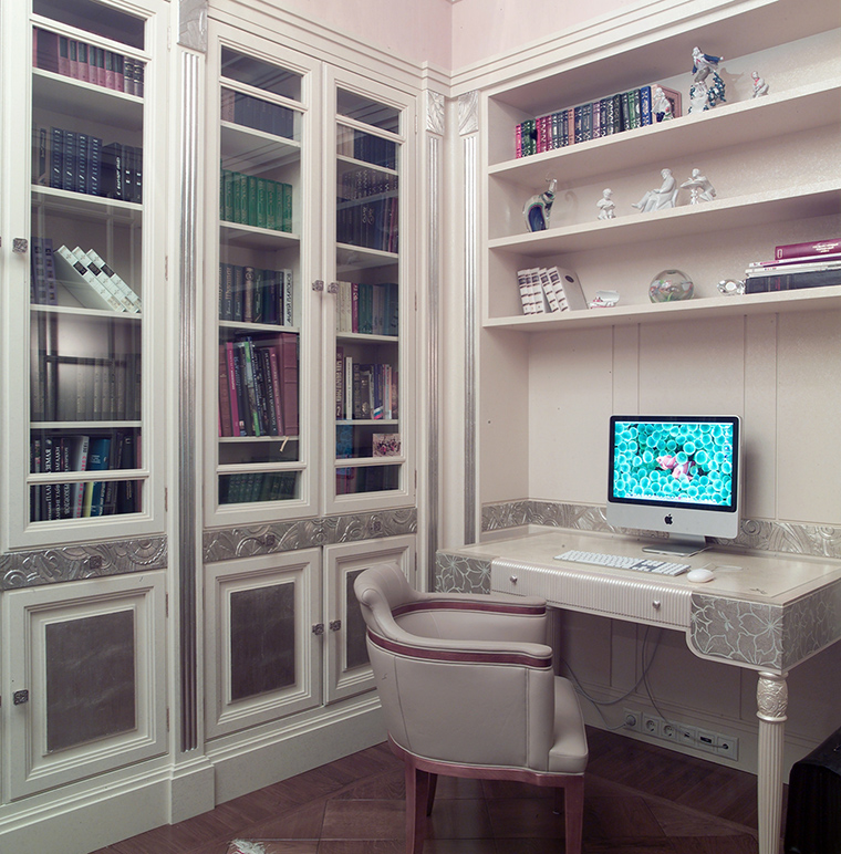 Фото № 46831 кабинет библиотека  Квартира