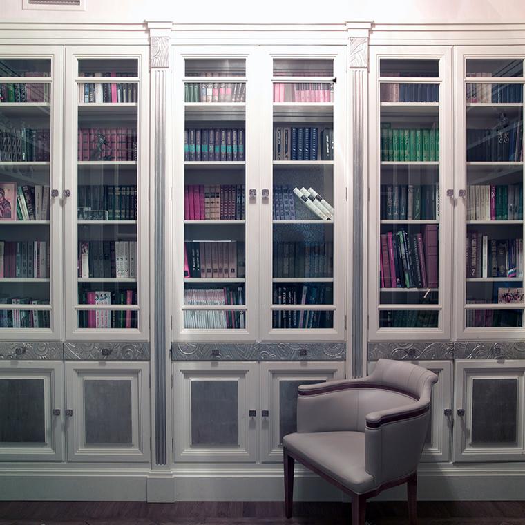 Фото № 46833 кабинет библиотека  Квартира