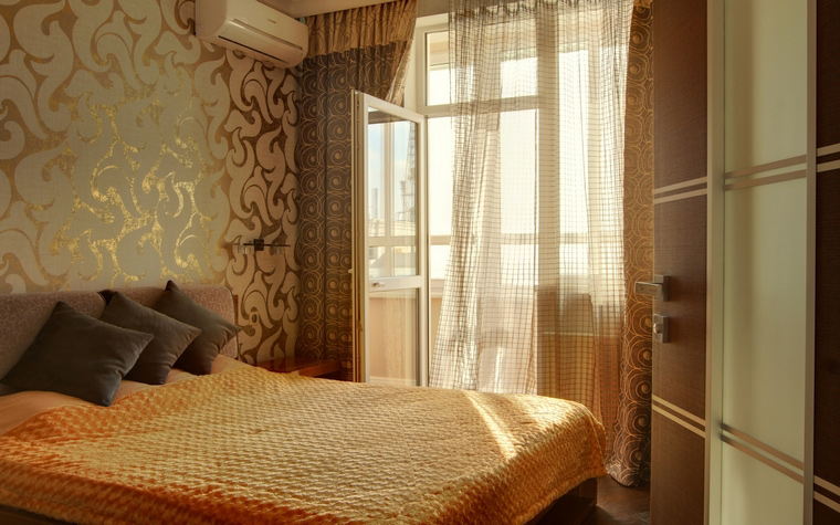 интерьер спальни - фото № 46663