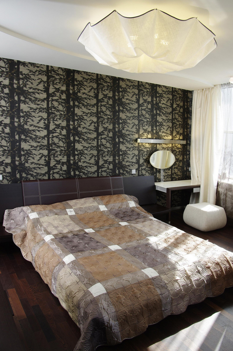 интерьер спальни - фото № 46758