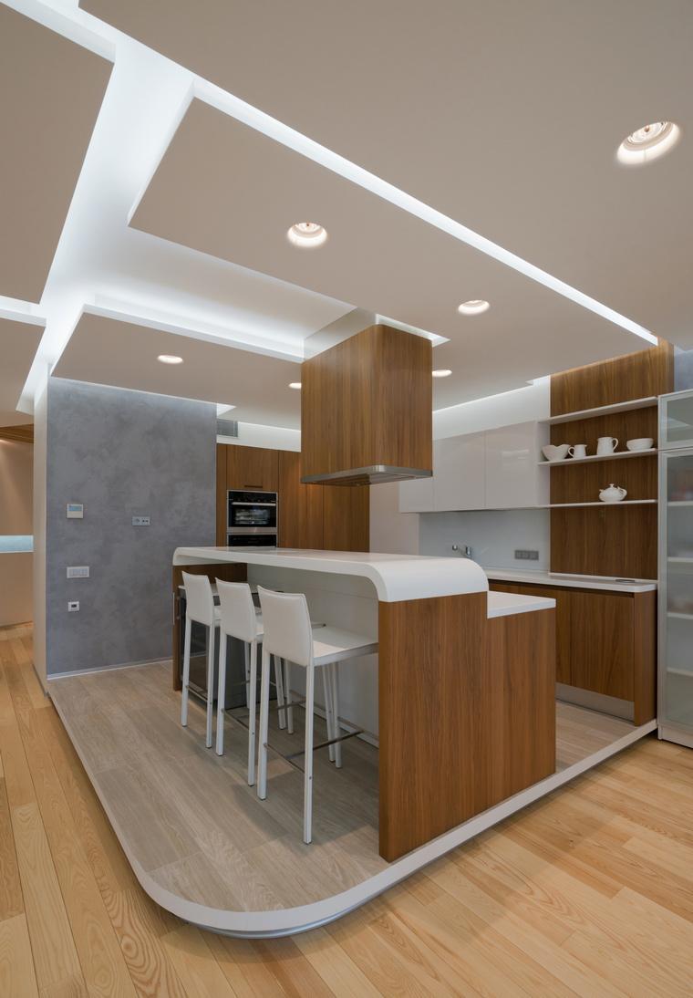 Квартира. кухня из проекта , фото №46769