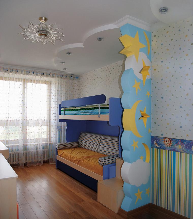 Квартира. детская из проекта , фото №46872