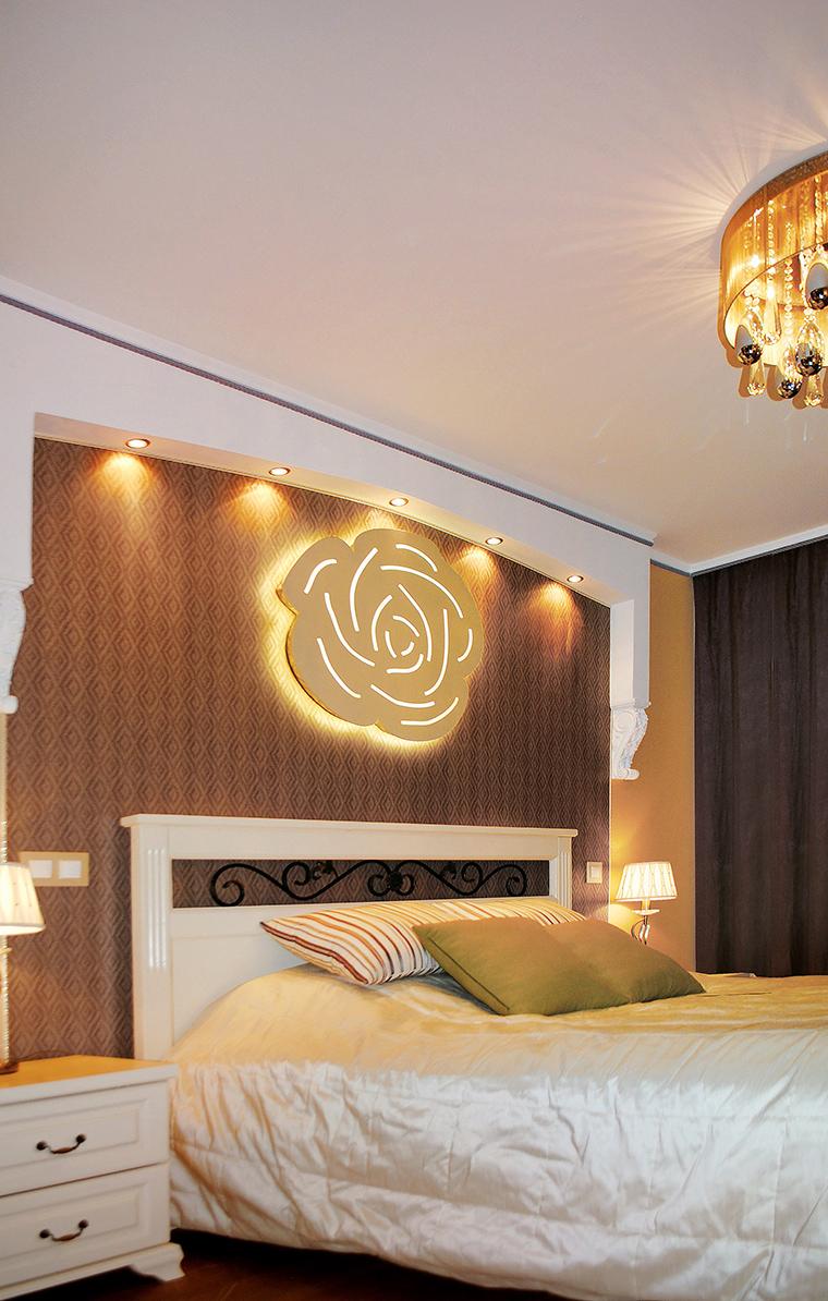 интерьер спальни - фото № 46905