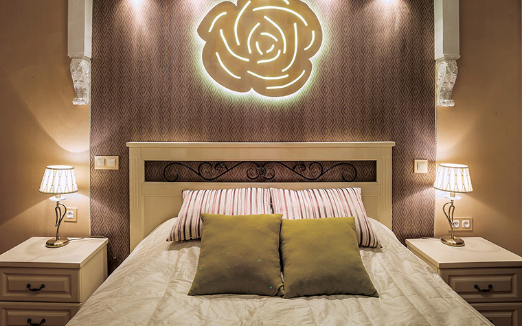 интерьер спальни - фото № 46907