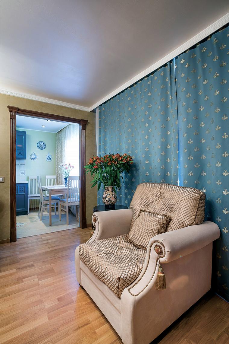 Квартира. гостиная из проекта , фото №46900