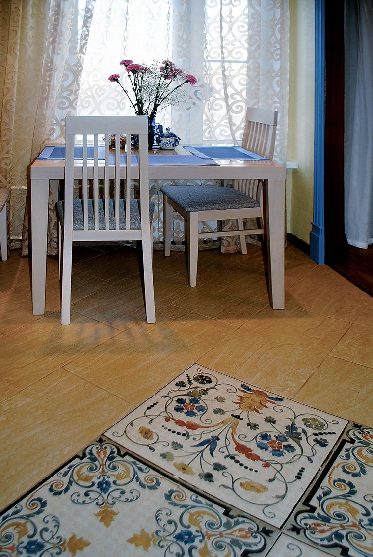 Квартира. столовая из проекта , фото №46901