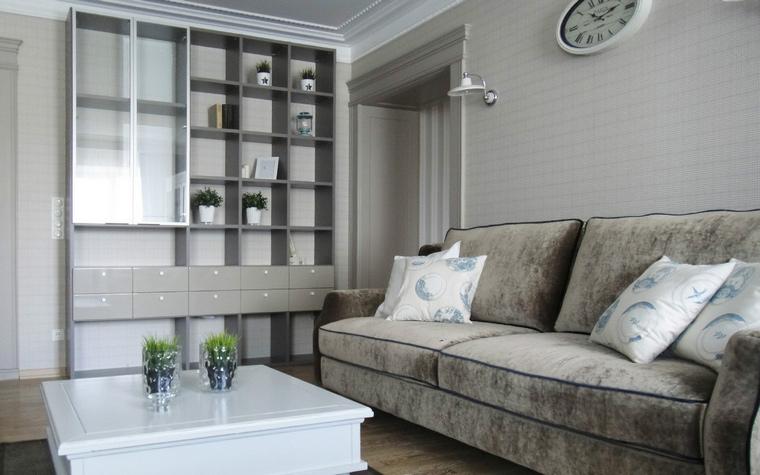 интерьер гостиной - фото № 46955