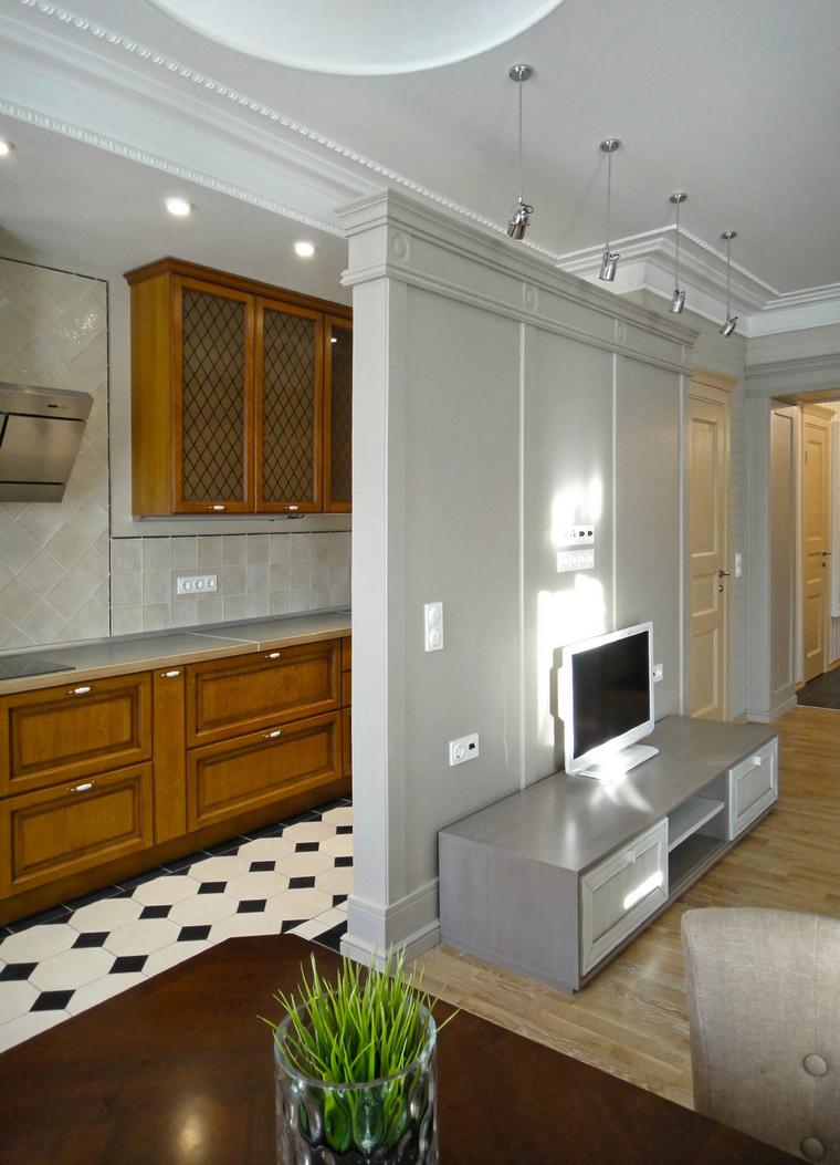 интерьер гостиной - фото № 46965