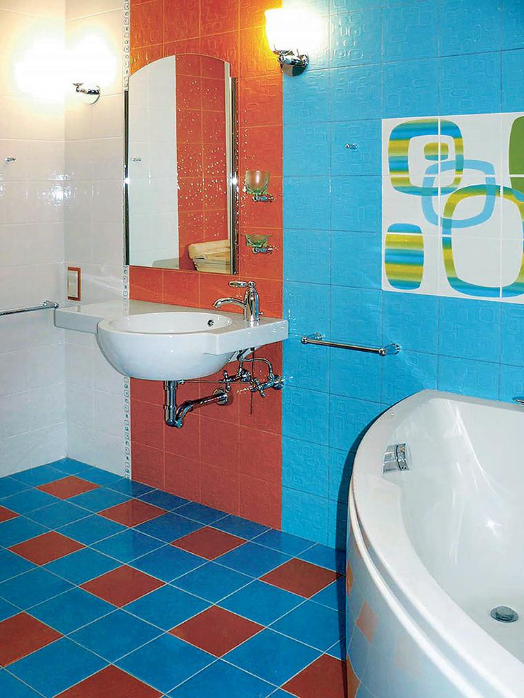 Квартира. ванная из проекта , фото №46996