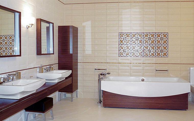 Квартира. ванная из проекта , фото №46997
