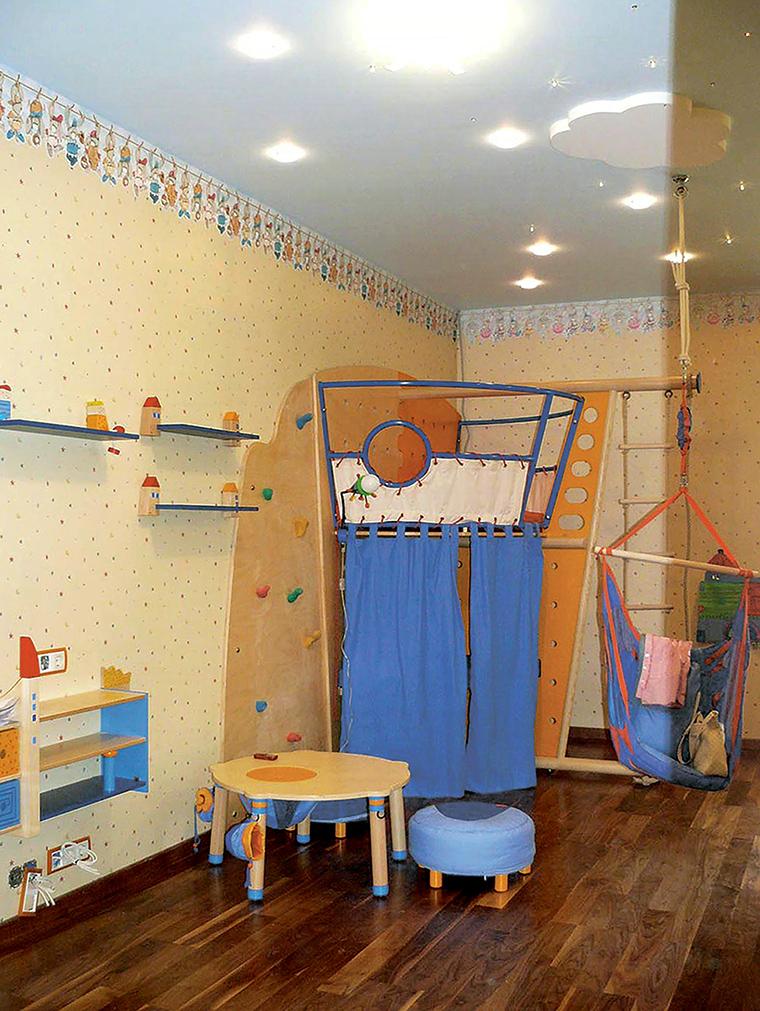 Квартира. детская из проекта , фото №46995
