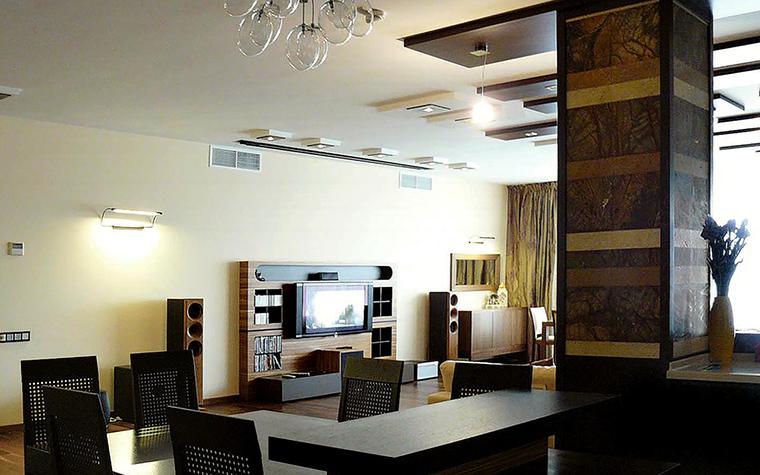 Квартира. гостиная из проекта , фото №47004