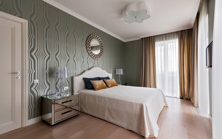 интерьер спальни - фото № 47094