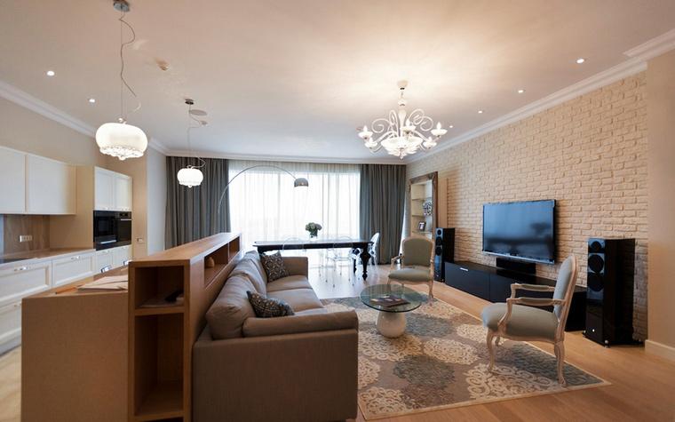 Фото № 47088 гостиная  Квартира