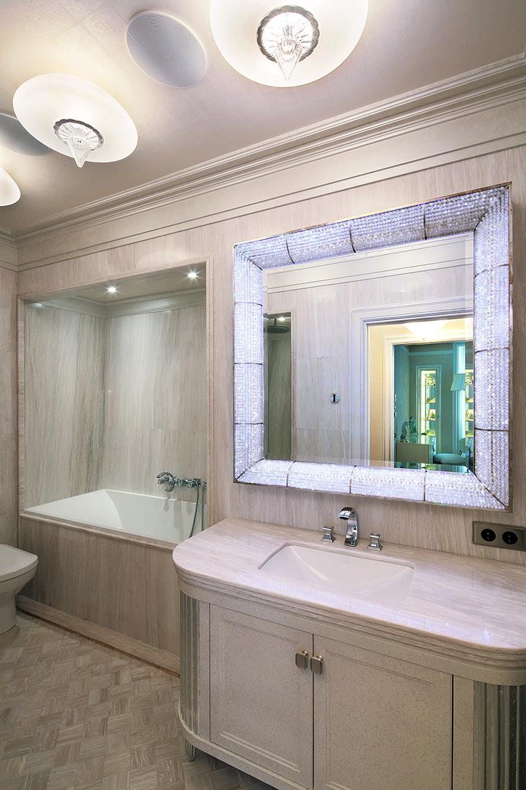 Квартира. ванная из проекта , фото №47224