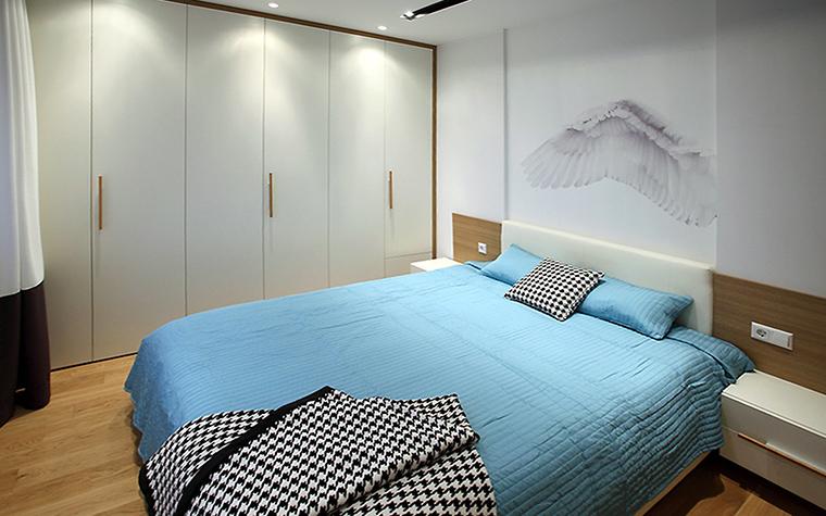Квартира. спальня из проекта , фото №47246