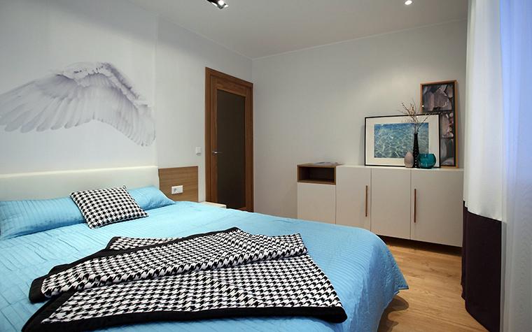 Квартира. спальня из проекта , фото №47247