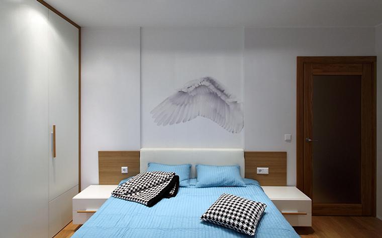 Квартира. спальня из проекта , фото №47248