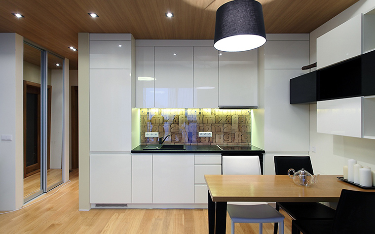 Квартира. кухня из проекта , фото №47239