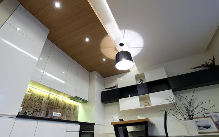 Квартира. кухня из проекта , фото №47240