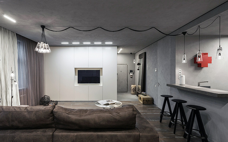 интерьер гостиной - фото № 47273