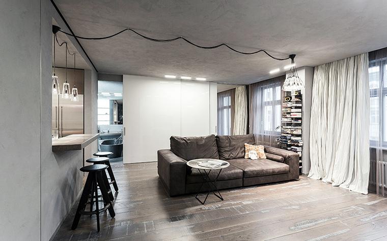 интерьер гостиной - фото № 47272