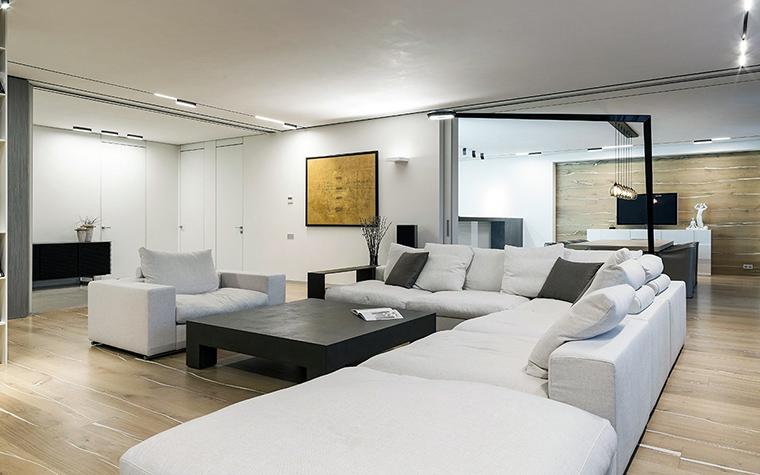 Квартира. гостиная из проекта , фото №47322