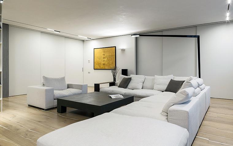 Квартира. гостиная из проекта , фото №47323
