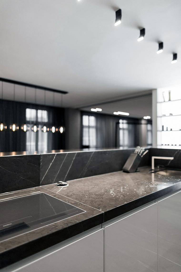 Фото № 47308 кухня  Квартира