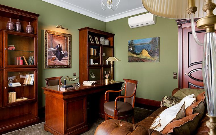 Квартира. кабинет из проекта , фото №47345
