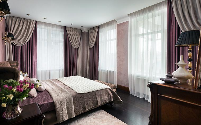 Квартира. спальня из проекта , фото №47346